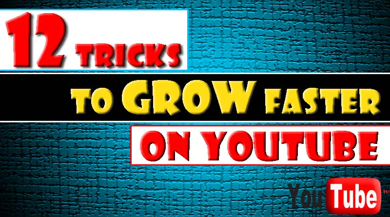 12 AMAZING!! Trick To Quickly Draw Traffic To your New Youtube Channel