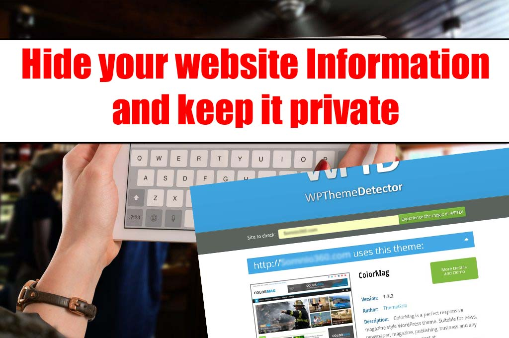 BEWARE!!Rival May Steal Your Website Hide Website Information